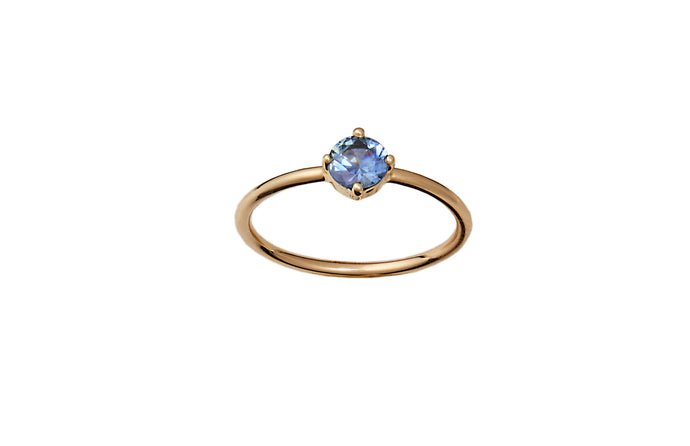 Limited Edition Medium Sapphire Solitaire Ring
