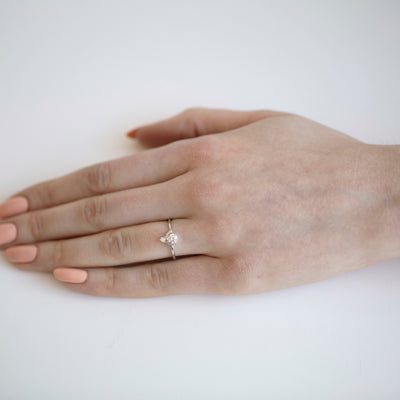 Limited Edition Small Nestled Diamonds Ring