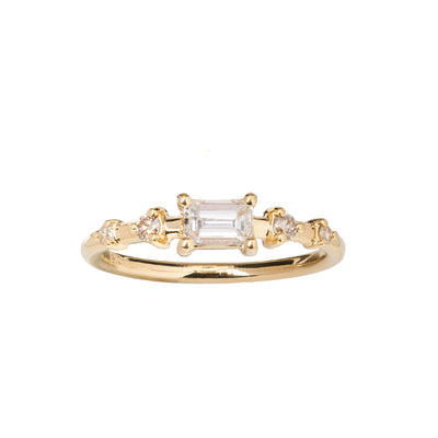 Limited Edition Champagne Small Vista Ring