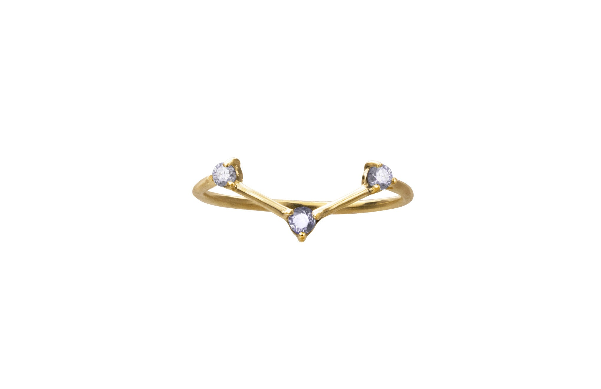 Tonal Three-Step Triangle Ring