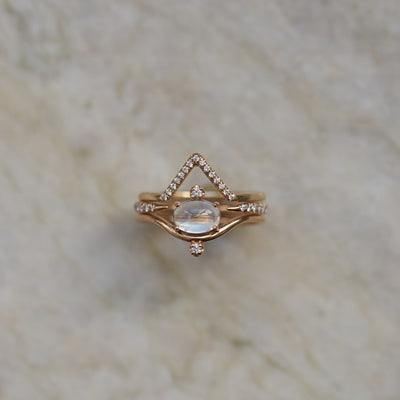 Micropave Open Slice Ring