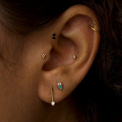 One-Step Bar Earrings