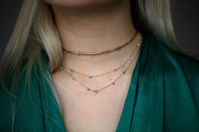 Botany Linear Chain Necklace