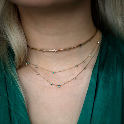 Botany Gradient Chain Collar