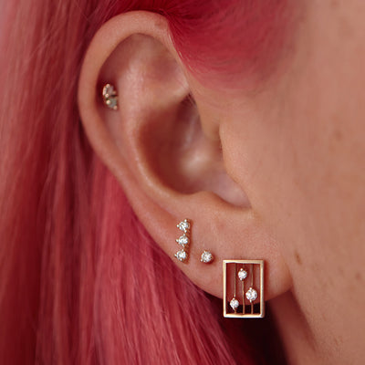 Diamond Drift Earrings