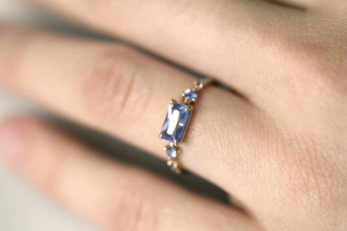 One of a Kind Light Sapphire Ring