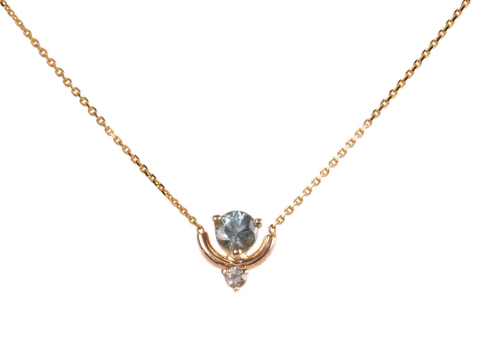 Limited Edition Sapphire and Tourmaline Necklace