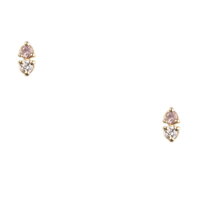 Limited Edition Two-Step Sapphire and Diamond Earrings