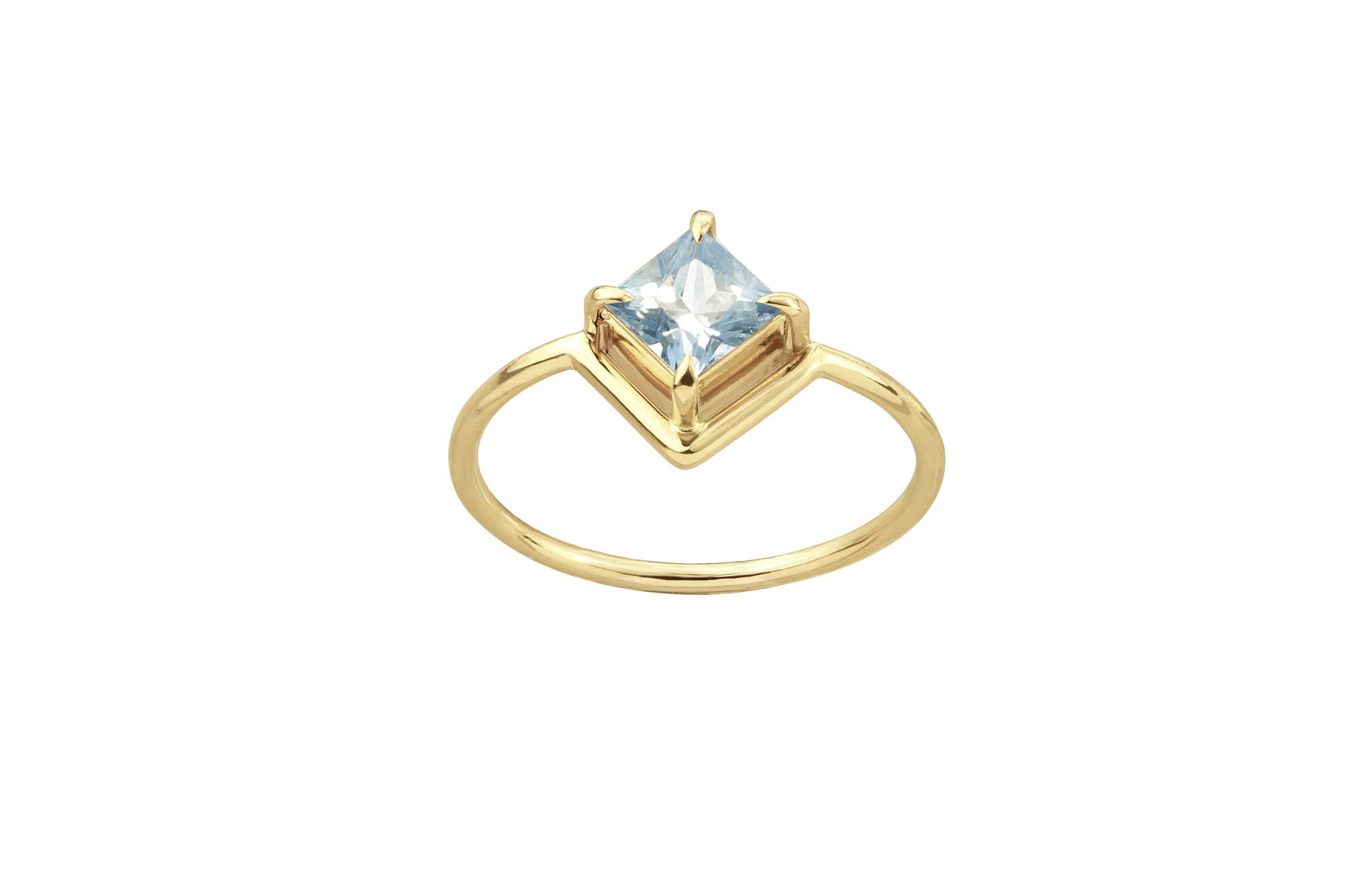 render sapphire three ctw band in floor light aqua with split channel gold metal shop white emitter ring wedding stone accents princess row blue