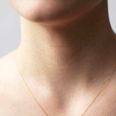 Limited Edition Blush Three Points Necklace