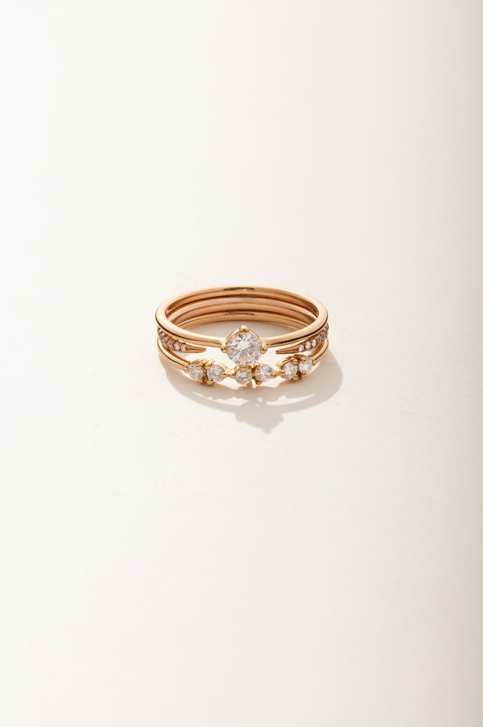 Small Round Solitaire Ring
