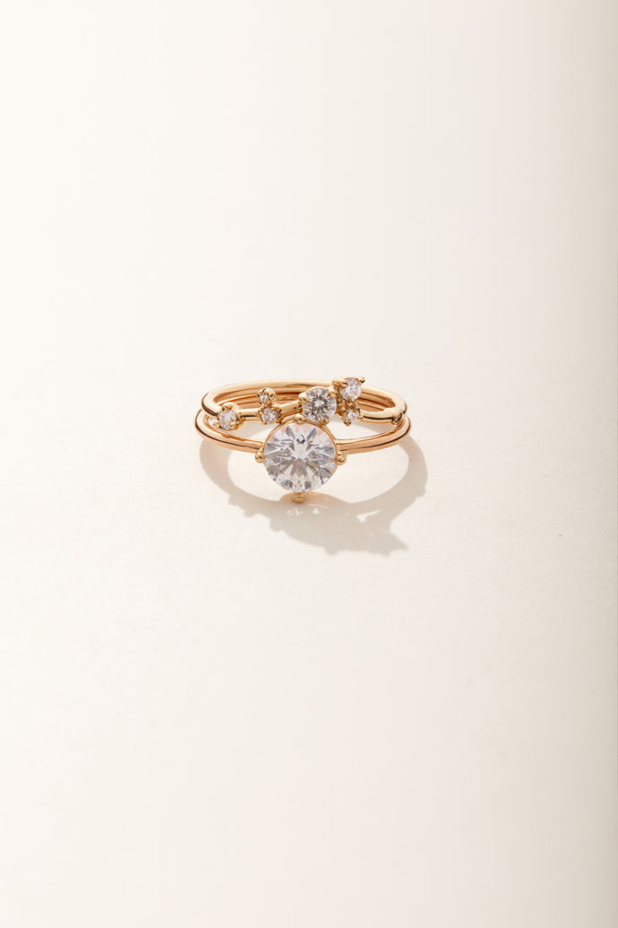 Large Round Solitaire Ring