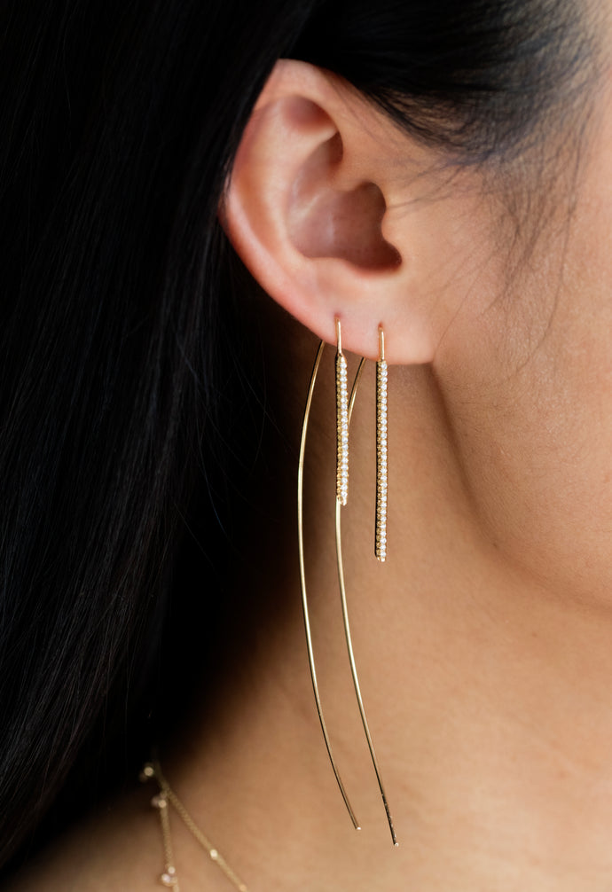 Medium Fixed Pendulum Earrings