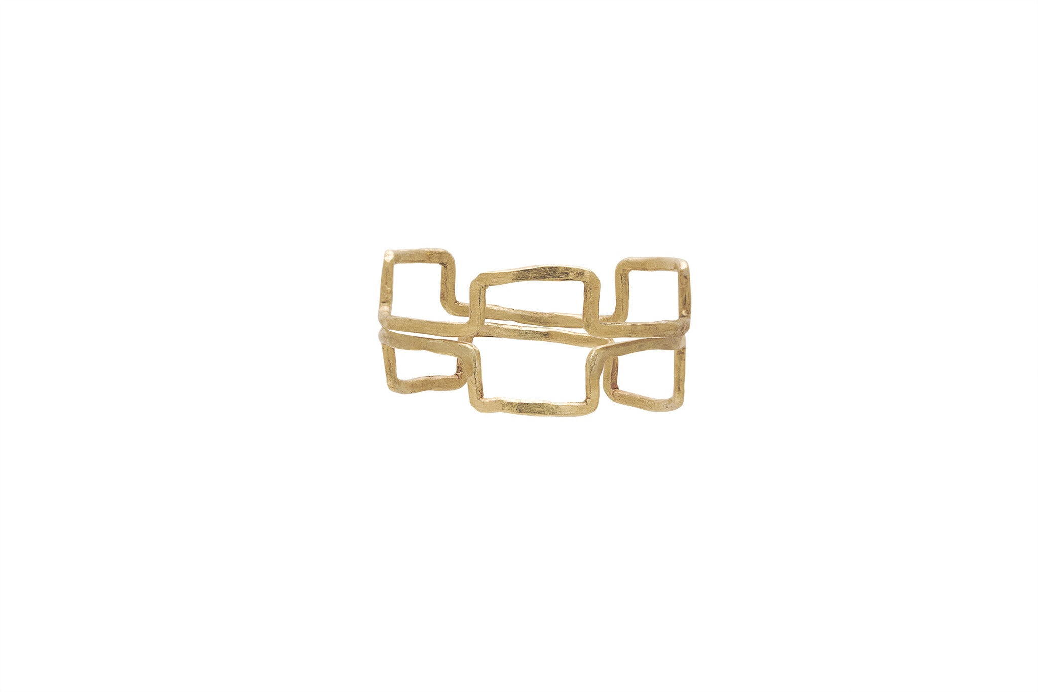 Triple Rectangles Ring