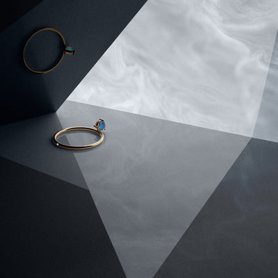 Double-Sided Flipped Ring