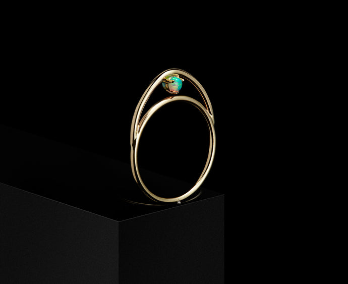 Suspended Arc Ring