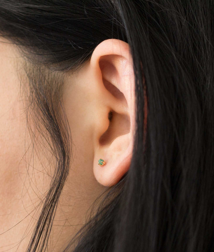 Minutia Emerald Earrings - Web Exclusive