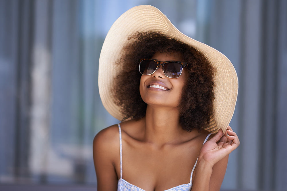 protecting your hair from the sun