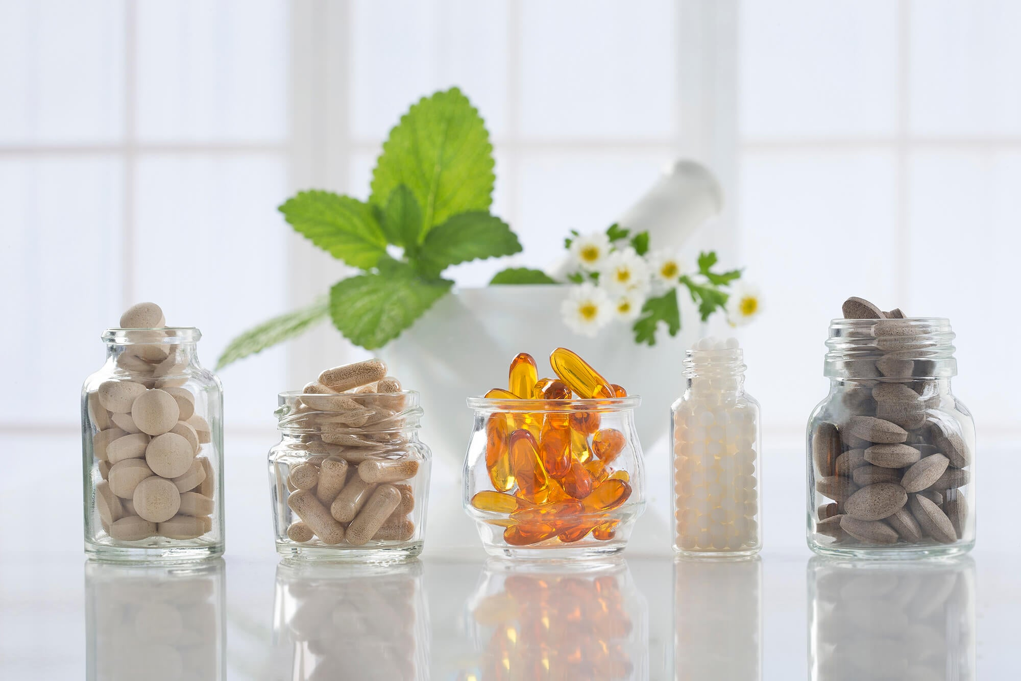 Different forms of supplements