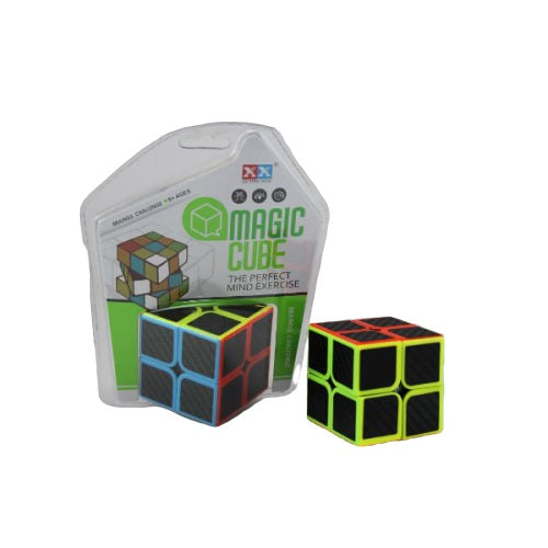 Magic Cube 2x2 Carbon