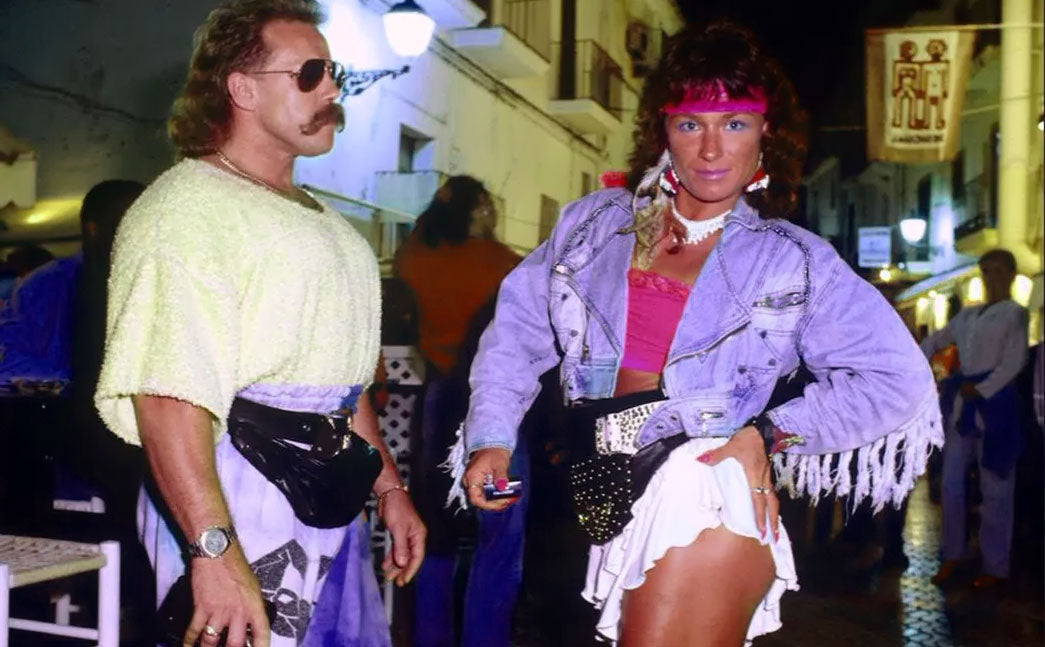 fanny pack during the 80s