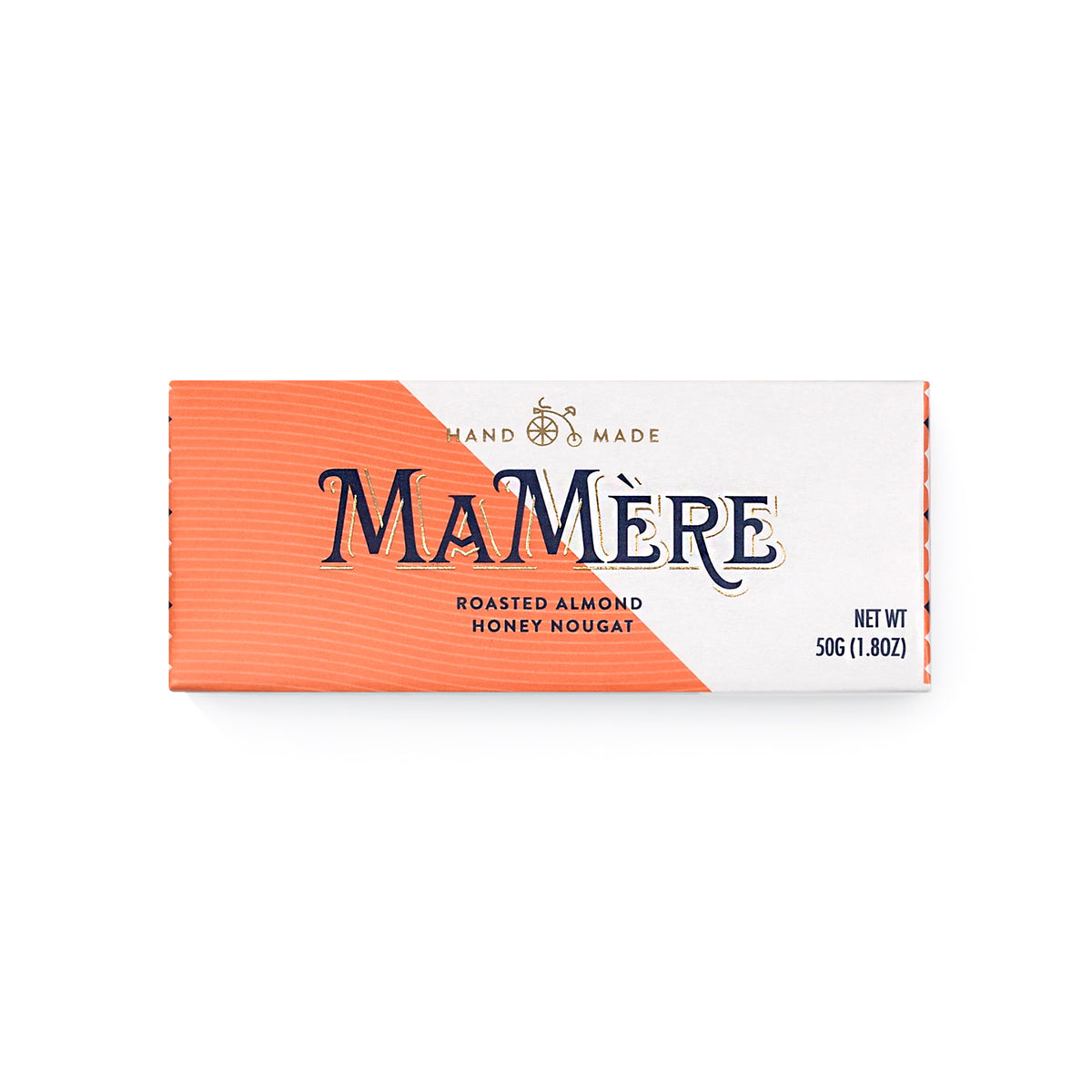 MaMere Roasted Almond Nougat (50g)