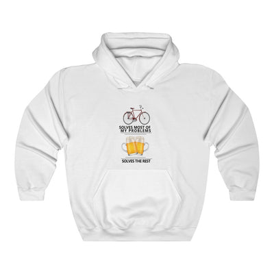 CYCLING FIXES ALMOST EVERYTHING HOODY
