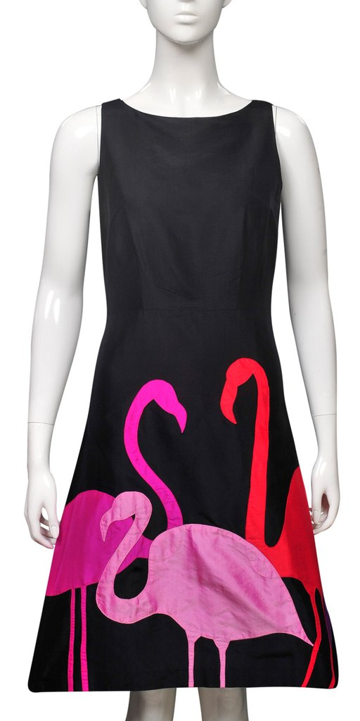 Animal collection flamingos dress