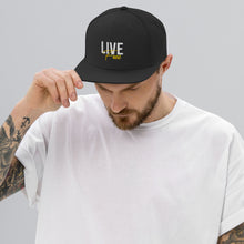 Load image into Gallery viewer, Live Free Flat Brim Trucker Cap