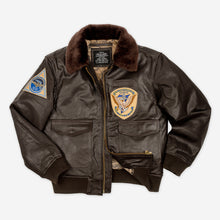 Load image into Gallery viewer, G1 Leather Jacket 2 Patches
