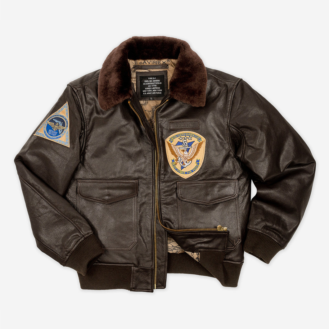 G1 Leather Jacket 2 Patches