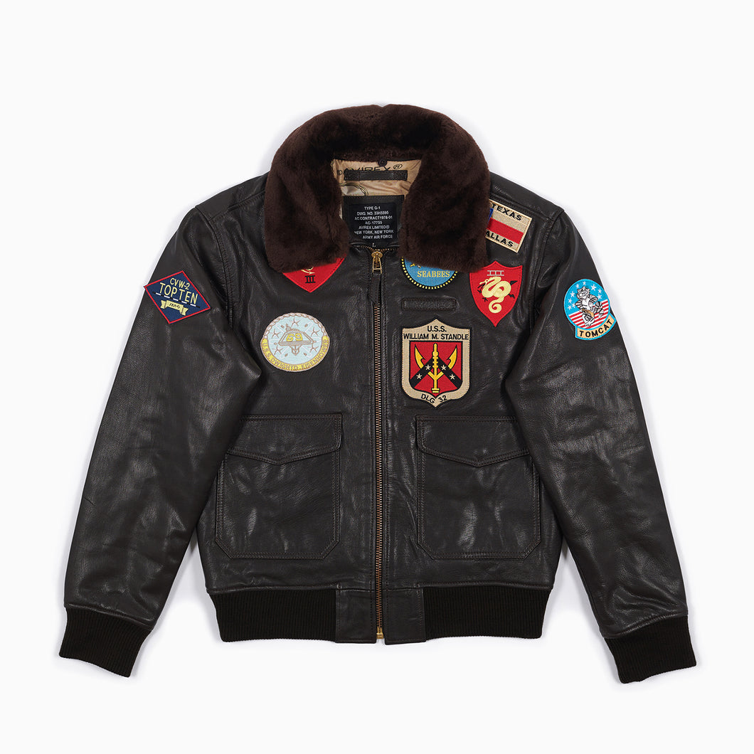 Summer Top Gun G1 Leather Jacket