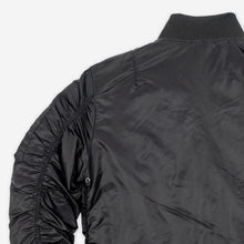 Load image into Gallery viewer, MA-2 Nylon Bomber Jacket - Black