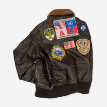 Load image into Gallery viewer, Maverick Leather Jacket