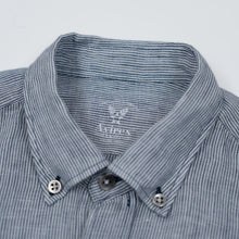 Load image into Gallery viewer, Linen Buckley Shirt - Millerighe White/Blue