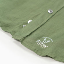 Load image into Gallery viewer, Linen Buckley Shirt - Military Green