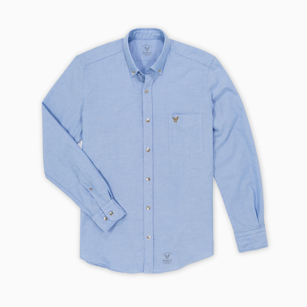 Buckley Oxford Shirt - Light Blue
