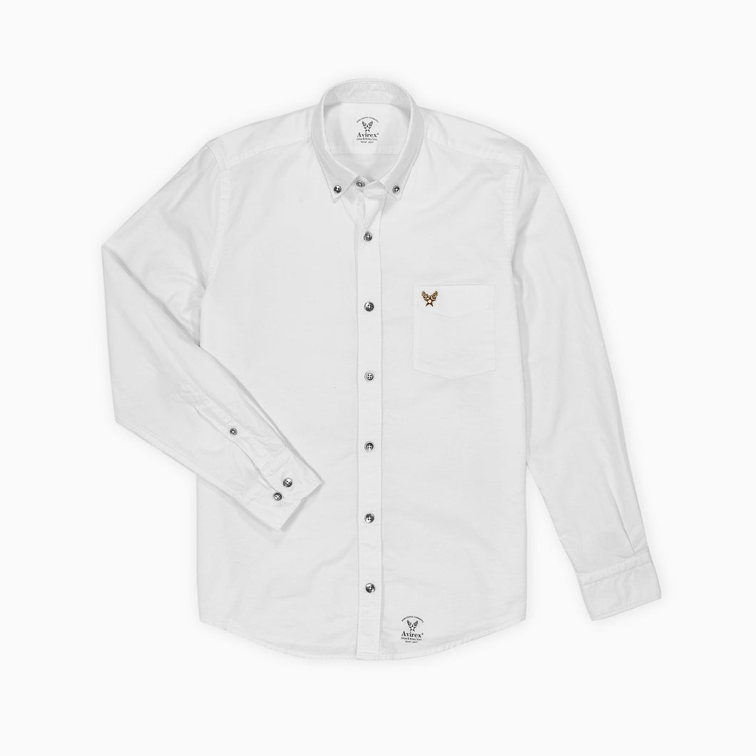 Buckley Oxford Shirt - White