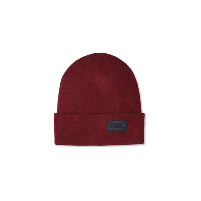 Tilley Extra Fine Merino Toque in Burgundy