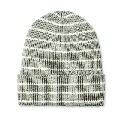Tilley Organic Stripe Cotton Toque in Grey Mix