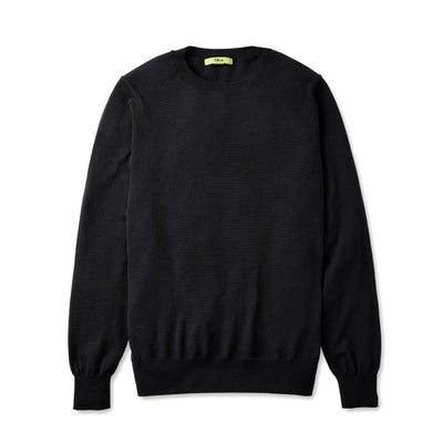 Tilley Men's Extra Fine Crewneck in Black