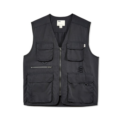 Tilley Men's Multi Pocket Vest in Charcoal
