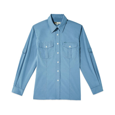 Tilley NW16 Tech AIRFLO® Shirt in Blue