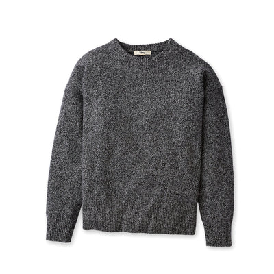 Tilley Women's Merino Crewneck Sweater in Black  Marl