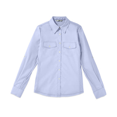 Tilley WF70 Urban Safari Shirt in Blue