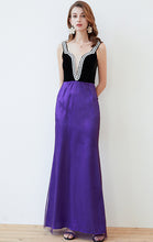 Load image into Gallery viewer, Latest Tulle A-line Purple Formal Dress LFNC0013