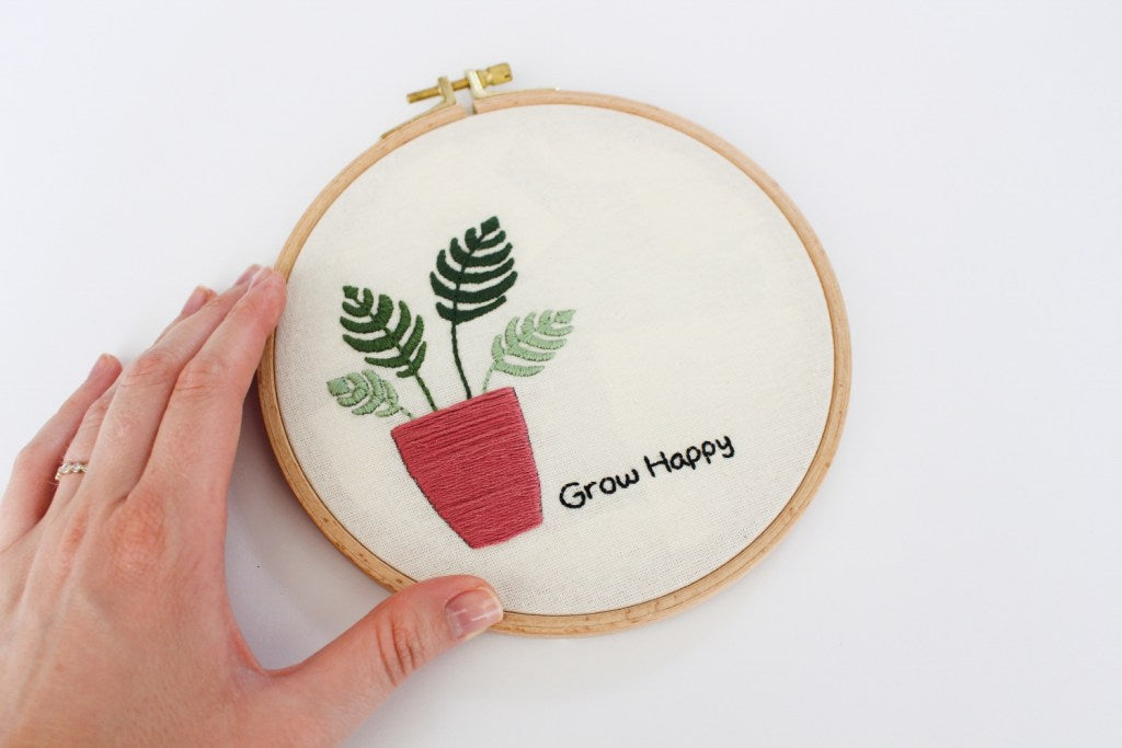 free embroidery pattern | bluprint collab