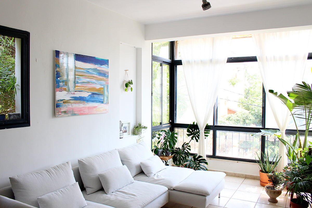 How to paint abstract wall artHow to paint abstract wall art