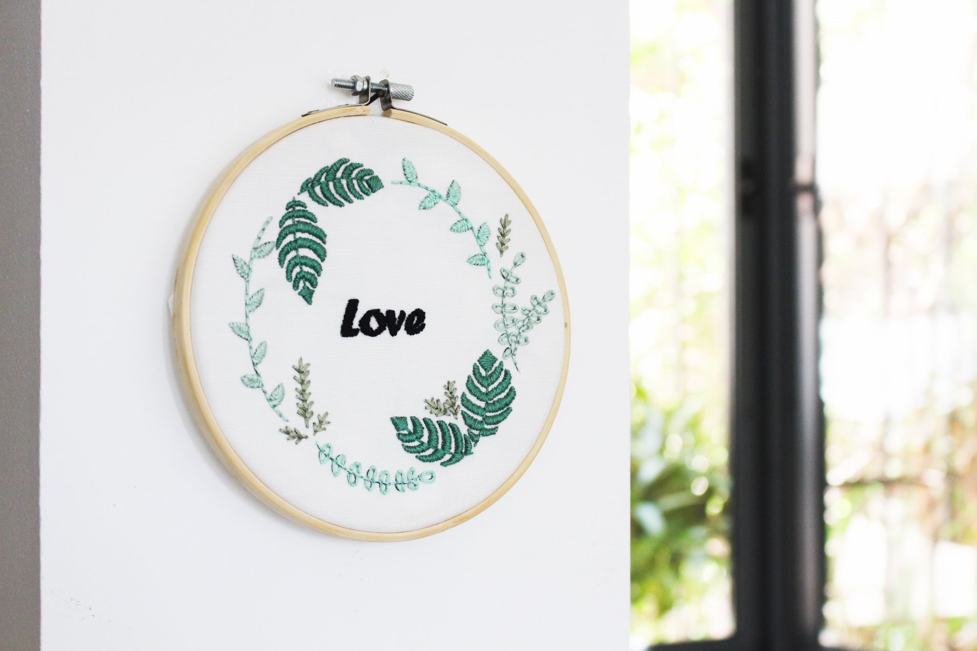 plants embroidery pattern by tata sol