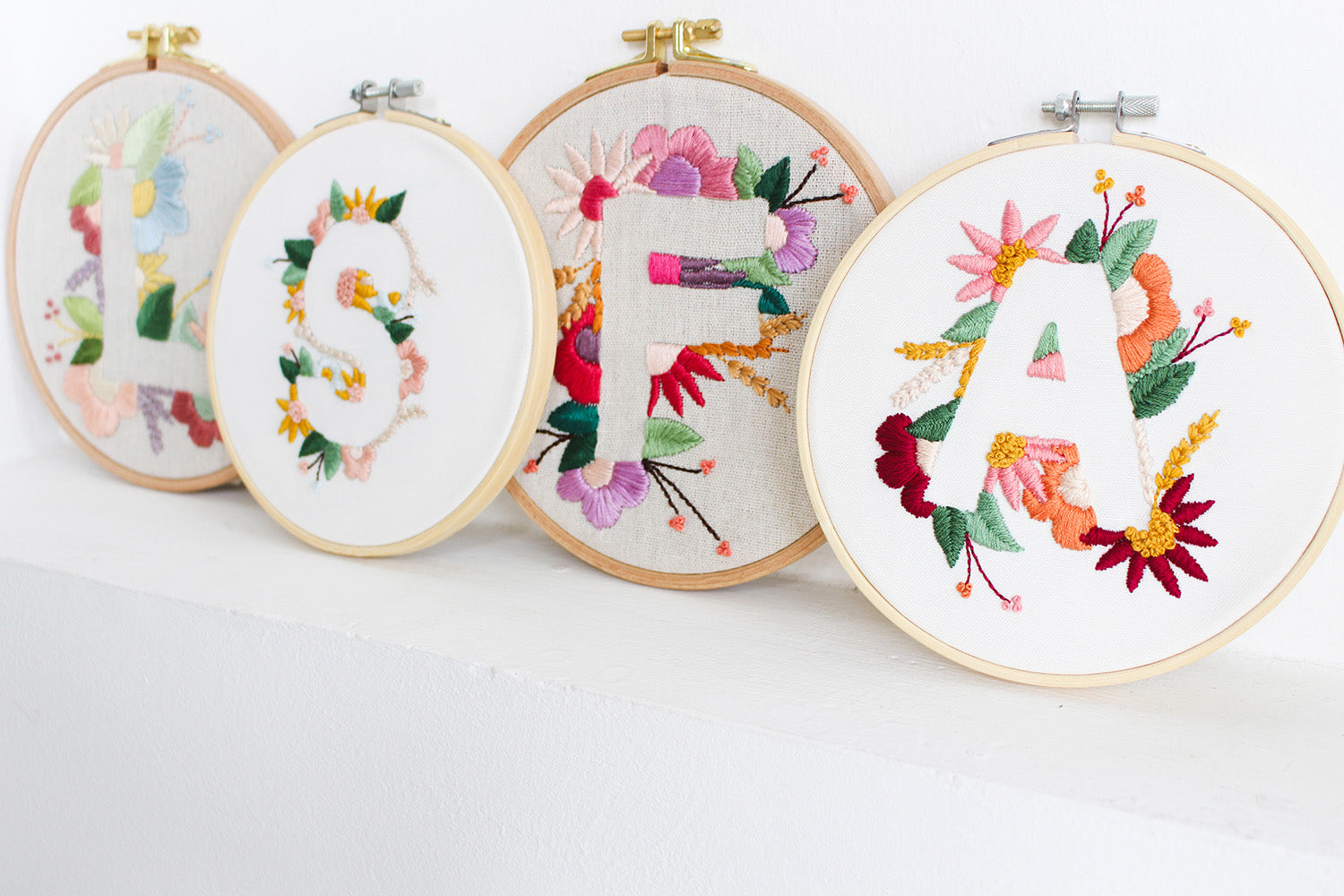 How To Choose Thread Colors For Floral Embroidery